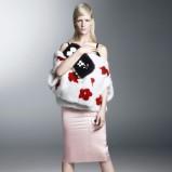 dopasowana spódniczka Prada w kolorze jasnoróżowym - kolekcja na wiosnę i lato 2013