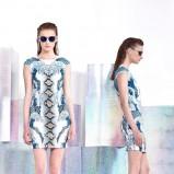 dopasowana sukienka Just Cavalli - moda 2014