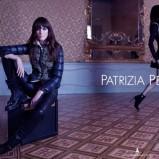 dopasowana sukienka Patrizia Pepe w kolorze czarnym - jesień 2013