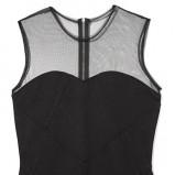 dopasowana sukienka Reserved w kolorze czarnym - kreacje na studniówkę