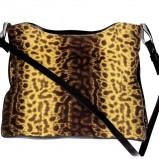 drapieżna torebka Caterina w panterkę - modne dodatki