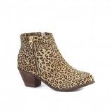drapieżne botki New Look w panterkę - obuwie na wiosnę 2013
