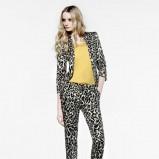 drapieżne spodnie Mango w panterkę - kolekcja damska