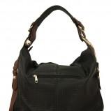 duża torba Pretty One w kolorze czarnym - modne torebki