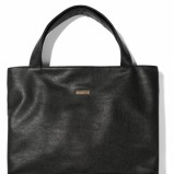duża torebka Mohito w kolorze czarnym - trendy na wiosnę