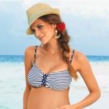 Dwuczęściowy strój kąpielowy ciążowy BonPrix