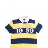 dziecięca żółta koszulka Armata di mare polo