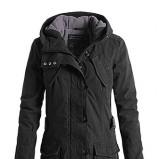 Dziewczęca czarna kurtka ESPRIT z kapturem jesień/zima 2012/2013