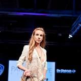 ecru bluzka Patrizia Pepe we wzory - moda 2012