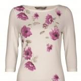 ecru bluzka Top Secret z aplikacją - kolekcja jesienna