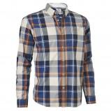 ecru koszula Cottonfield w kratkę - moda 2011/2012