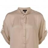 ecru koszula Topshop - z kolekcji wiosna-lato 2011