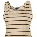 ecru koszulka Topshop w paski - moda 2011