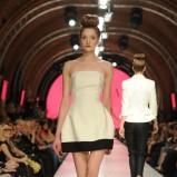 ecru sukienka La Mania odkryte ramiona - z kolekcji wiosna-lato 2011