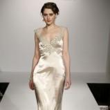 ecru suknia ślubna Maggie Sottero z trenem