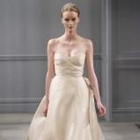 ecru suknia ślubna Monique Lhuillier