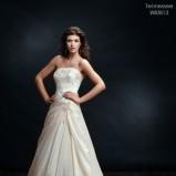 ecru suknia ślubna Wings koronkowa - 2012