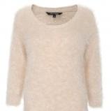 ecru sweter Top Secret