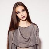 elegancka bluzeczka Aga Kowala-Surma w kolorze brązowym - kolekcja na jesień i zimę 2012/13