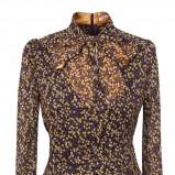 elegancka bluzeczka Pretty One w odcieniach brązu i fioletu - moda damska 2012/13