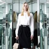 elegancka koszula Azzaro w kolorze białym - trendy 2013/2014/- moda 2013/2014