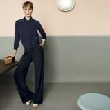 elegancka koszula Max Mara w kolorze granatowym - kolekcja na wiosnę i lato 2013