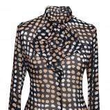 elegancka koszula Pretty One w kolorze brązowym - lato 2013