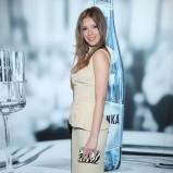 elegancka spódnica w kolorze beżowym - Klaudia Halejcio