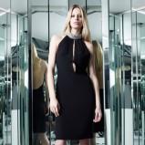 elegancka sukienka Azzaro - zima 2013/2014