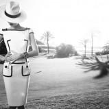elegancka sukienka Caterina w kolorze białym