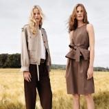 elegancka sukienka Chloe w kolorze brązowym - kolekcja na wiosnę i lato 2013