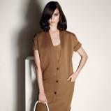 elegancka sukienka Max Mara w kolorze brązowym - moda na wiosnę i lato 2013