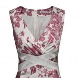 elegancka sukienka Pretty One w kwiaty - lato 2013