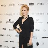 elegancka sukienka w kolorze czarnym - Anna Samusionek