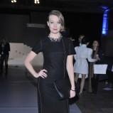elegancka sukienka w kolorze czarnym - Tamara Arciuch