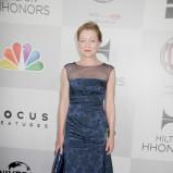 elegancka sukienka wieczorowa w kolorze granatowym - Julie White