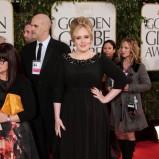elegancka sukienka wieczorowa w kolorze zcarnym - Adele