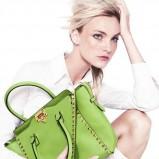 elegancka torebka Neiman Marcus w kolorze zielonym - wiosna 2013