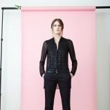 elegancka tunika Akris w kolorze czarnym - moda 2014