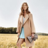 elegancki płaszczyk Chloe w kolorze brązowym - wiosna i lato 2013