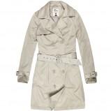 elegancki płaszczyk House w kolorze ecru - moda 2013