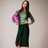 elegancki sweterek Burberry w kolorze zielonym - elegancka odzież