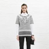 elegancki sweterek Diesel w kolorze szarym - wiosna 2014