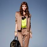 elegancki żakiet Versace w kolorze brązowym - moda 2013/14