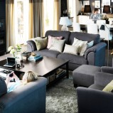 Eleganckie meble salon IKEA  -inspiracje 2013