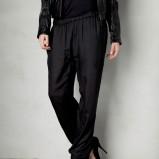 eleganckie spodnie Pull and Bear w kolorze czarnym - karnawałowe stylizacje 2013