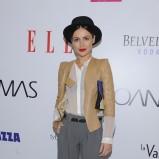 eleganckie spodnie w kolorze szarym - Marta Żmuda-Trzebiatowska