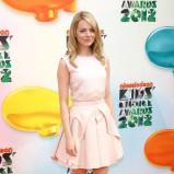 Emma Stone jasnoróżowej sukience