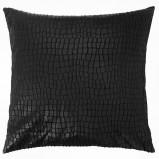 Fantazyjna poduszka dekoracyjna czarna do salonu- Black Red White