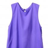 fioletowa bluzka H&M luźna - lato 2012